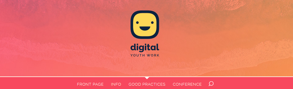 Ausschnitt der digital youth work Website.