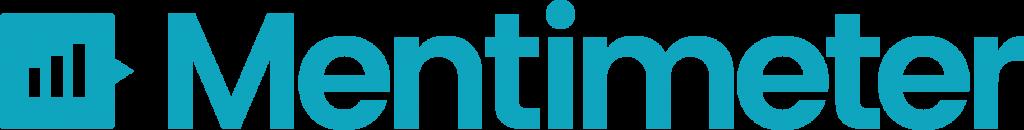 Das Logo von mentimeter ist ein blaues Säulendiagramm.