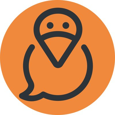 Das Logo von tweedback ist rund und stellt einen Vogel auf orangem Grund dar.