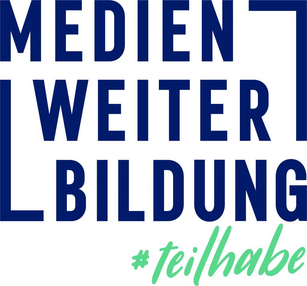 Logo: Medien_Weiter_Bildung #teilhabe